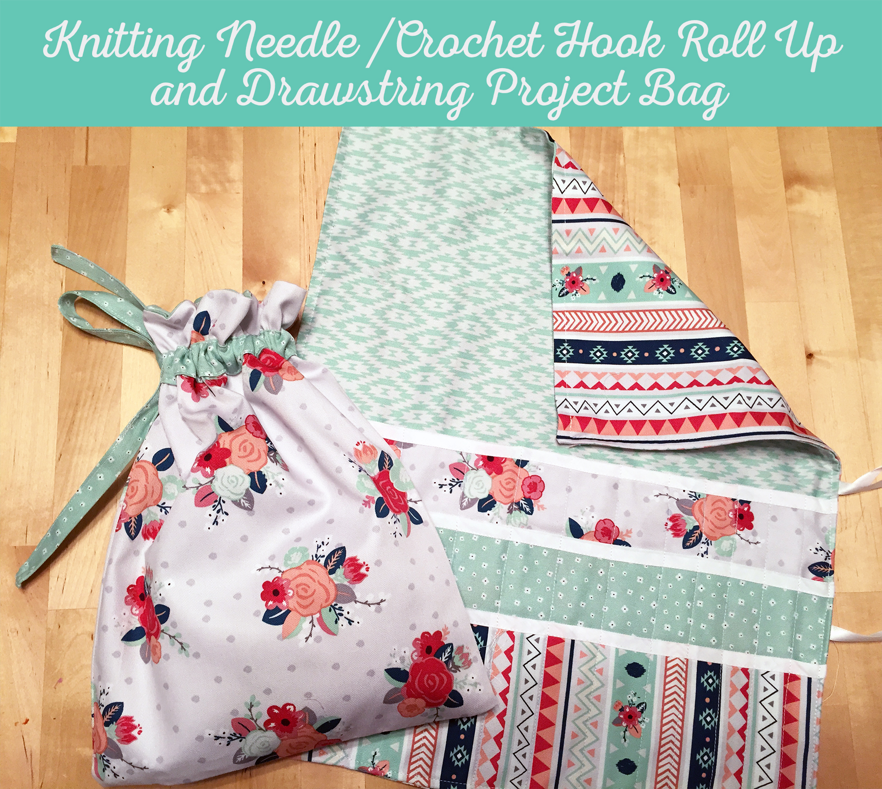 knitting needles case & project bag – i heart craft time